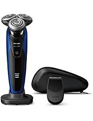 フィリップス 9000シリーズ メンズ 電気シェーバー 72枚刃 回転式 お風呂剃り & 丸洗い可 トリマー付 S9185/12