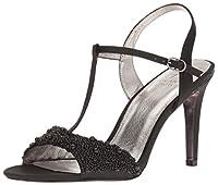 Adrianna Papell Women's Alia Dress Sandal, Black, Size 6.0