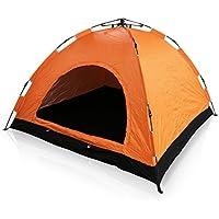 テント 簡単ワンタッチテント 3人用 4人用 組立不要 ドームテント