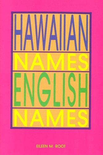 Download Hawaiian Names--English Names 0916630625