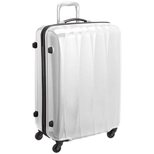 [アメリカンツーリスター] AMERICAN TOURISTER Arona Lite / アローナライト スピナー75 (75cm/87L/4.4Kg) (スーツケース・キャリーバッグ・Lサイズ・TSAロック・大容量・軽量・ファスナー・保証付き) 70R*15006 15 (ホワイト)