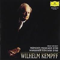 Schubert: Moments Musicaux.Wanderer-Fanta by Wilhelm Kempff (2012-12-05)