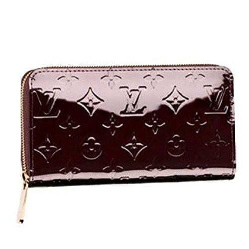 ルイヴィトン 財布 LOUIS VUITTON M93522 モノグラムヴェルニ アマラント ジッピーウォレット 長財布 [並行輸入品]