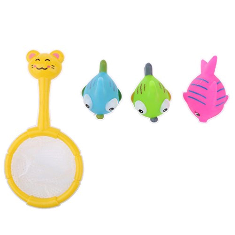 Fenteer 釣り 鳴き魚 子ども おもちゃ お誕生日 釣りネット付き 体験 子供の益智親子ゲーム