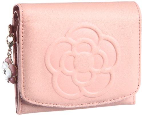 [クレイサス] CLATHAS ワッフル ソフトスムースカメリア BOX折り財布 185435 33 (ピンク)