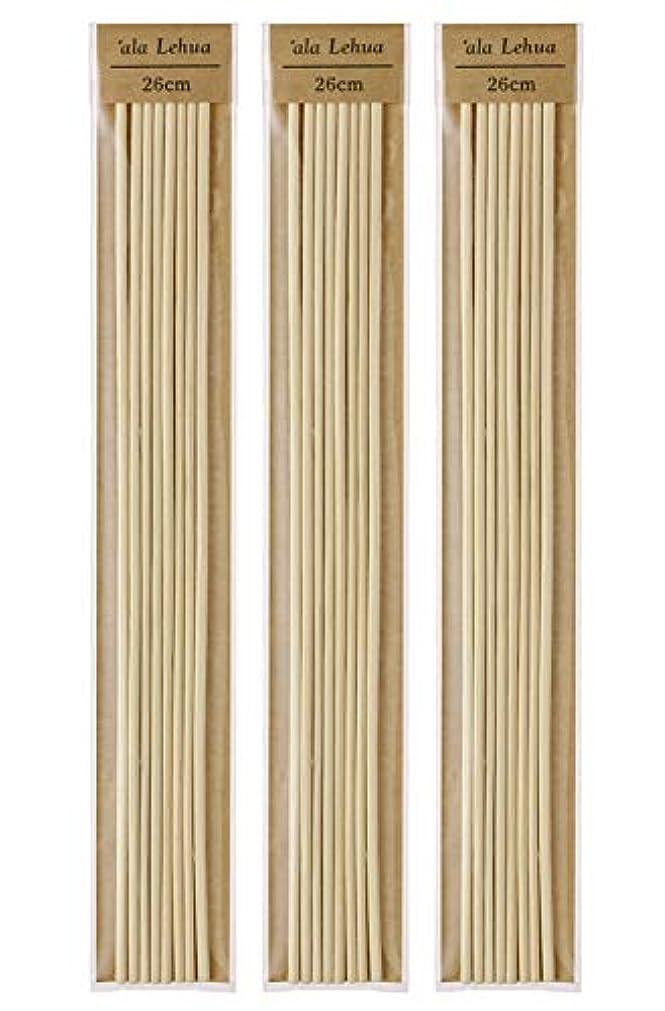 ハロウィンフルート追放するフレーバーライフ(Flavor Life) `ala Lehua (アラレフア) ラタンスティック 詰替え用 8本×3セット