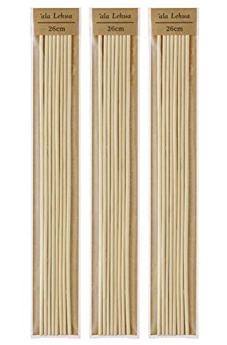 抑圧地上のエンジニアフレーバーライフ(Flavor Life) `ala Lehua (アラレフア) ラタンスティック 詰替え用 8本×3セット