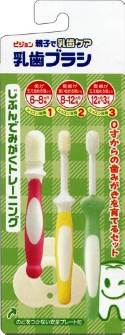 混雑退屈させる多年生乳歯ブラシセット