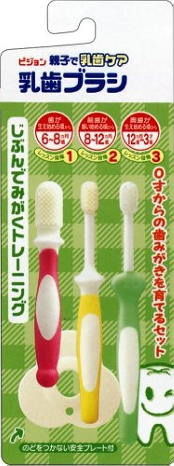 ツールオーガニック学ぶ乳歯ブラシセット