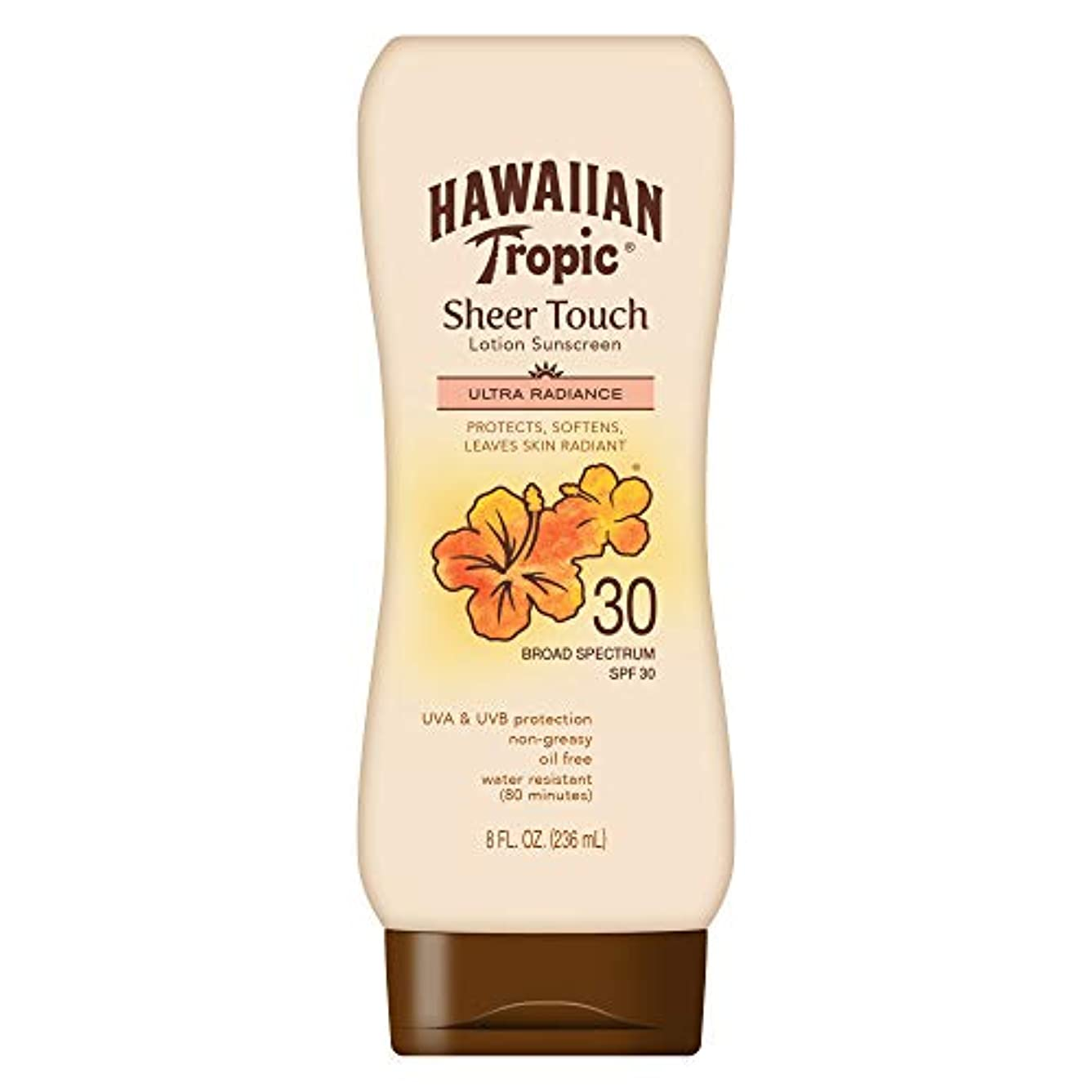信条ボーナスオフHawaiian Tropic Sheer Touch Sunscreen Lotion SPF 30 -- 8 fl oz by Hawaiian Tropic