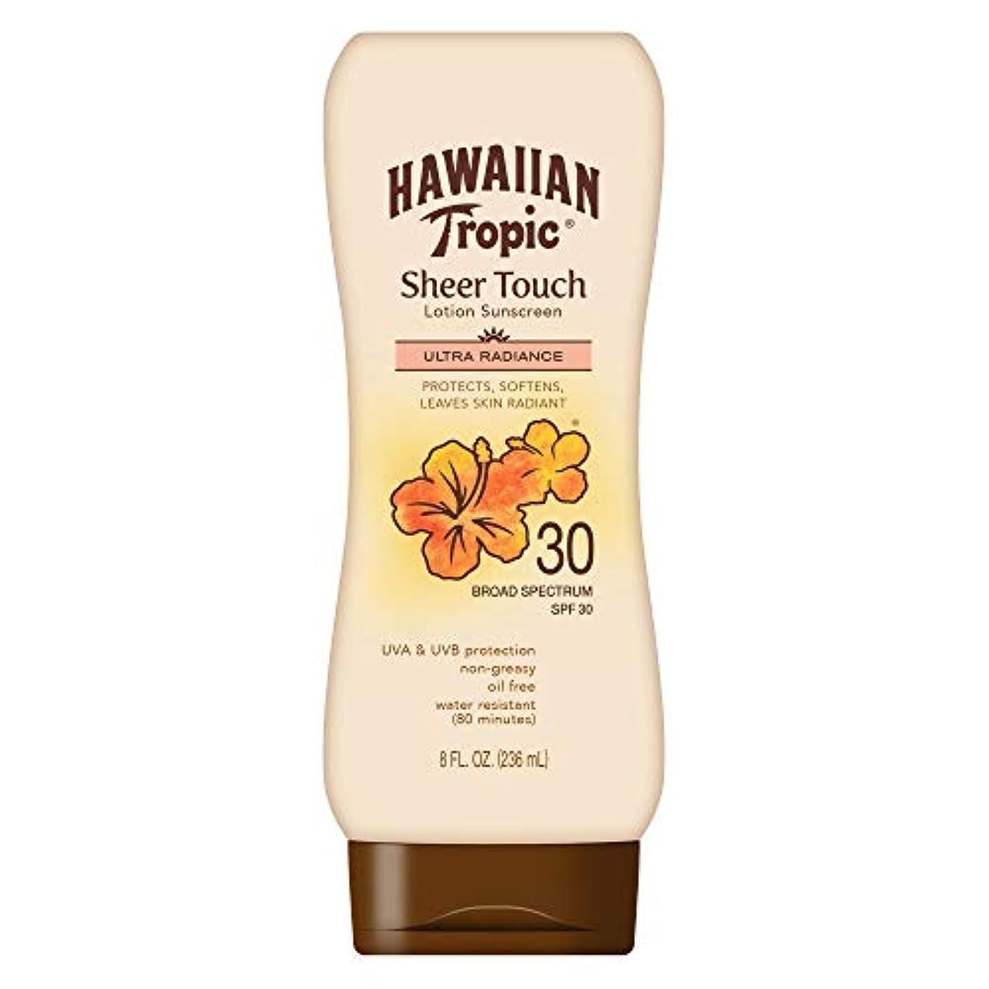 イルフラップ動くHawaiian Tropic Sheer Touch Sunscreen Lotion SPF 30 -- 8 fl oz by Hawaiian Tropic