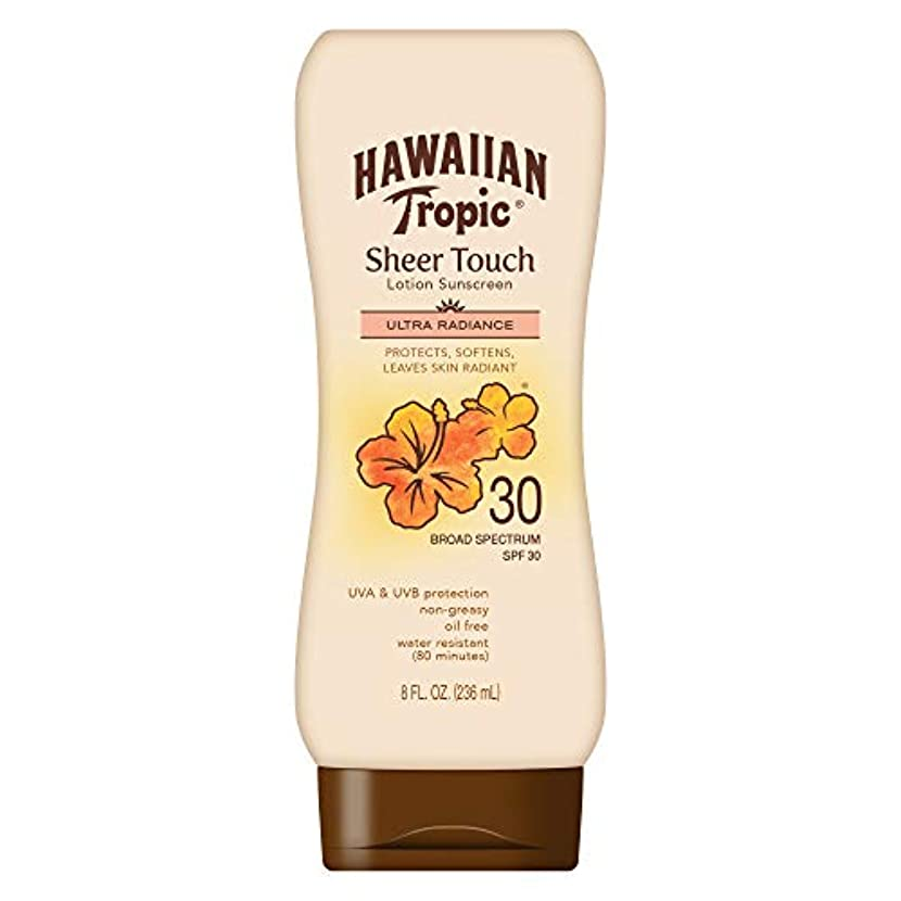 沿ってデザイナーかなりHawaiian Tropic Sheer Touch Sunscreen Lotion SPF 30 -- 8 fl oz by Hawaiian Tropic