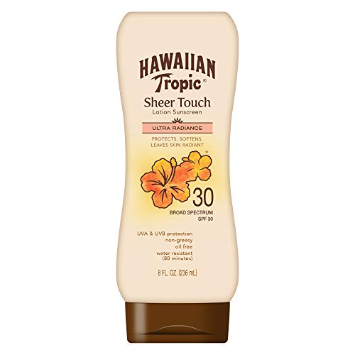 Hawaiian Tropic Sheer Touch Sunscreen Lotion SPF 30 -- 8 fl oz by Hawaiian Tropic