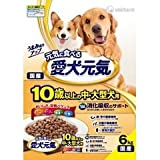 ユニ・チャーム(株) 愛犬元気 10歳以上の中・大型犬用 消化吸収のサポート 6.0kg