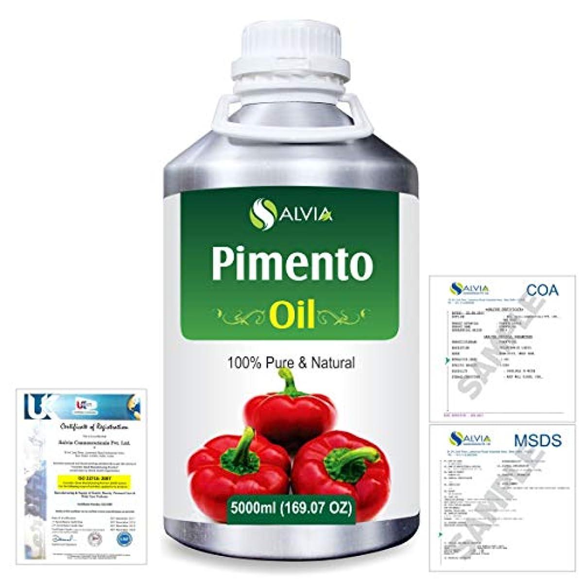 反応する無人減らすPimento (Pimenta dioica) 100% Natural Pure Essential Oil 5000ml/169fl.oz.