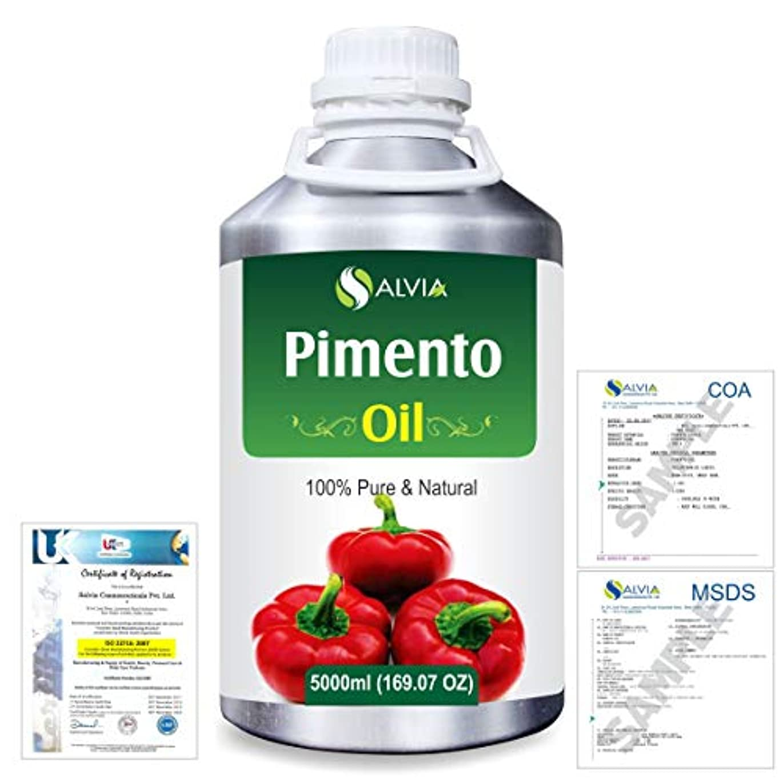 王位中毒バッチPimento (Pimenta dioica) 100% Natural Pure Essential Oil 5000ml/169fl.oz.