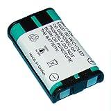 Panasonic kx-tg5561コードレス電話バッテリーni - mh、3.6ボルト、830mAh–ウルトラPanasonic交換品hhr-p104、Sony mdr-rr800/ 900シリーズ充電式バッテリー