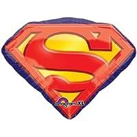 1 XXL 31 ' Foilパーティーバルーン新しいスーパーマンエンブレム' s '誕生日ギフトDecor Favors VHTF