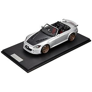 ONEMODEL 1/18 ホンダ S2000 ムゲン GP ブロンズホイール セブリングシルバーメタリック 完成品