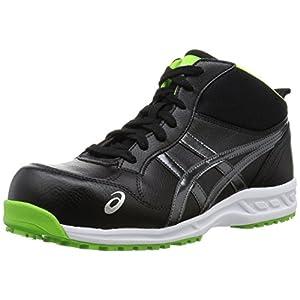[アシックスワーキング] 安全靴 FIS35L 9095 ブラック/ダークグレー 26.5