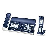 パナソニック デジタルコードレスFAX 子機1台付き 迷惑電話対策機能搭載 ネイビーブルー KX-PD505DL-A