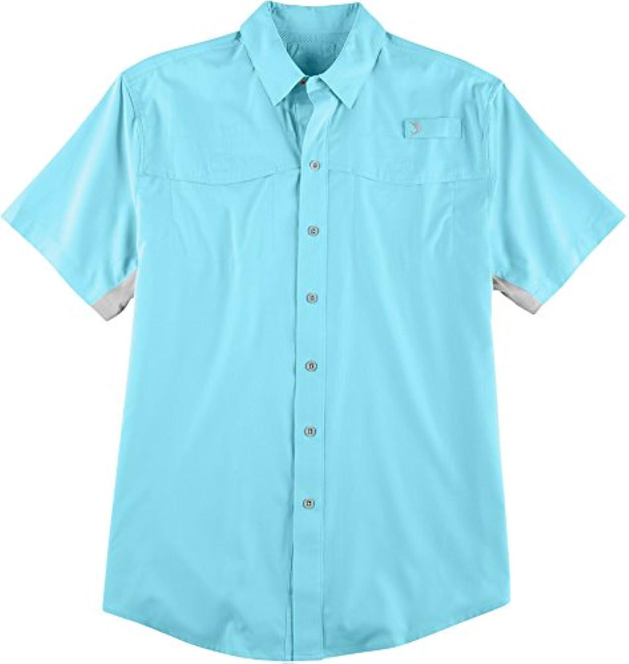 哲学的定常シェアReel Legends SHIRT メンズ US サイズ: Large カラー: ブルー