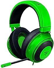 Razer Kraken Green ゲーミングヘッドセット アナログ接続 PS4 PC Switch スマートフォン 冷卻ジェルパッド 【日本正規代理店保証品】 RZ04-02830200-R3M