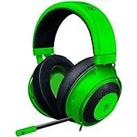 Razer Kraken Green ゲーミングヘッドセット アナログ接続  PS4 PC Switch スマートフォン 冷却ジェルパッド 【日本正規代理店保証品】 RZ04-02830200-R3M