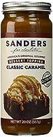 Sanders Classic Caramel dessert topping 20-oz. glass jar [並行輸入品]