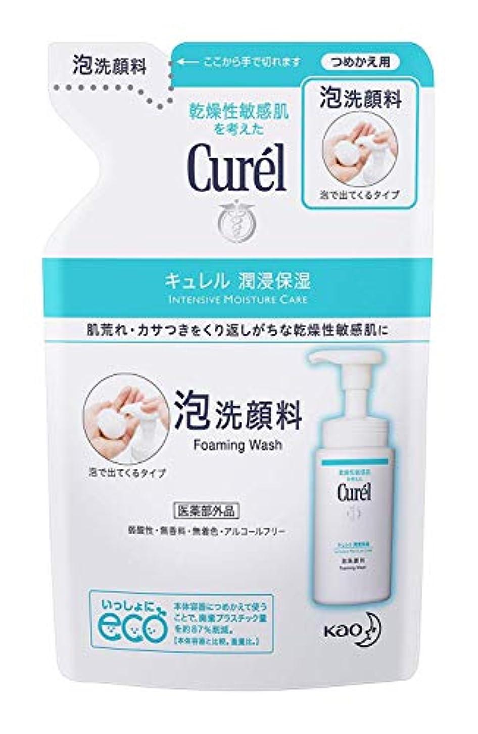 苦難すすり泣き蓮【花王】Curel(キュレル) 泡洗顔料 つめかえ用 130ml ×10個セット