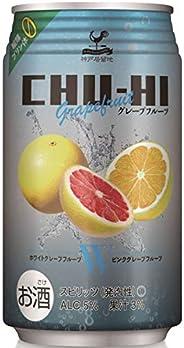 神戸居留地チューハイ グレープフルーツ 糖類ゼロ 缶 [ チューハイ 350mlx24本 ]