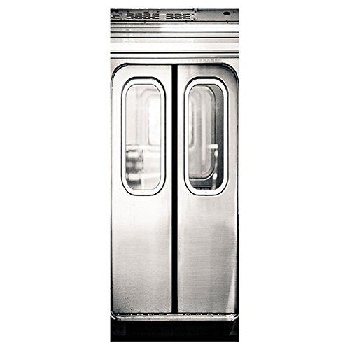 SUND シール ドア用 ドアシール オシャレ インテリア 雑貨 防水 PVC製 77x200cm 電車のドア ドア再生 キズ止め 子供の落書き止め 飾り 厚手 高品質 雰囲気変貌 模様簡単替え