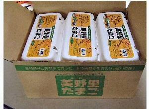 美野里たまご 加賀の朝日 6コ 10パック 箱入り