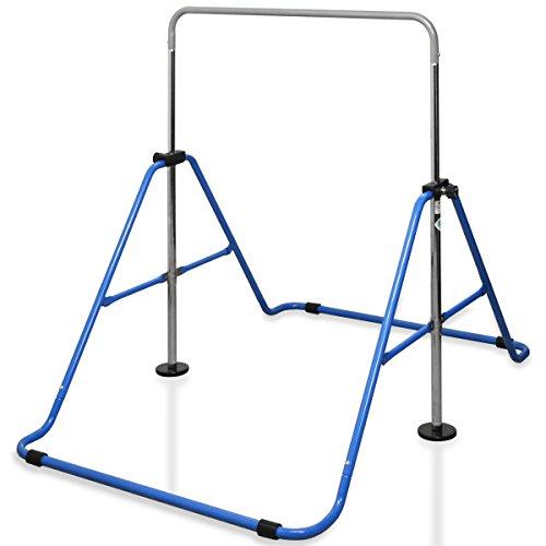 RiZKiZ 折りたたみ鉄棒 SGマーク取得 安全 ダブルロック 室内 屋外 折りたたみ 高さ調節 ダブルロック …