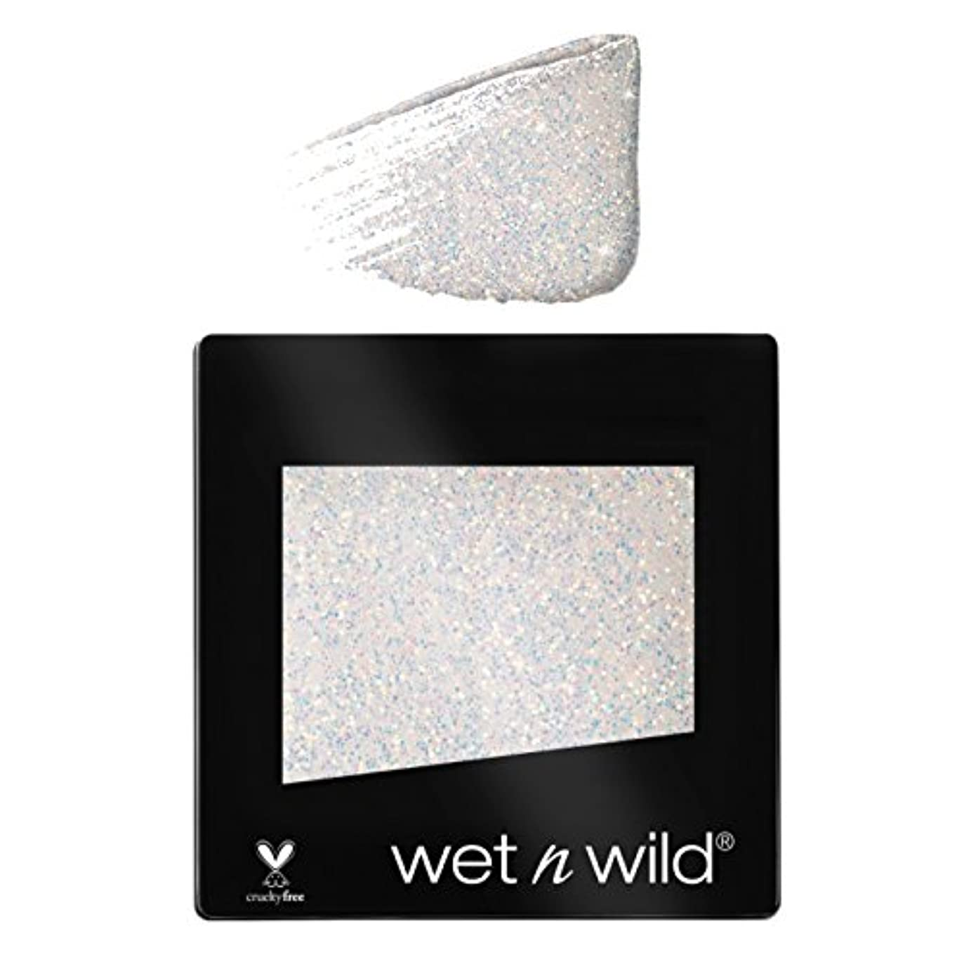 医薬血まみれのクッション(6 Pack) WET N WILD Color Icon Glitter Single - Bleached (NEW) (並行輸入品)