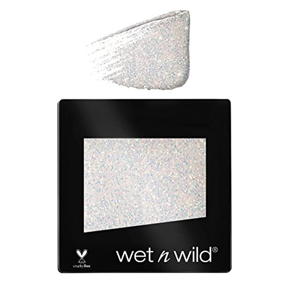 プロット大声で数学者(3 Pack) WET N WILD Color Icon Glitter Single - Bleached (NEW) (並行輸入品)