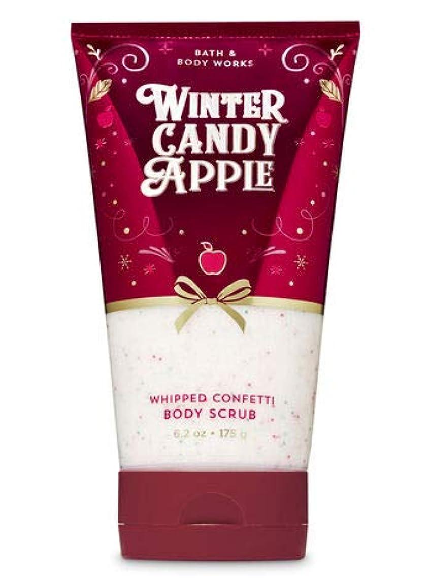 月曜日義務的コンパニオンバス&ボディワークス Winter Candy Apple ボディスクラブ [並行輸入品]