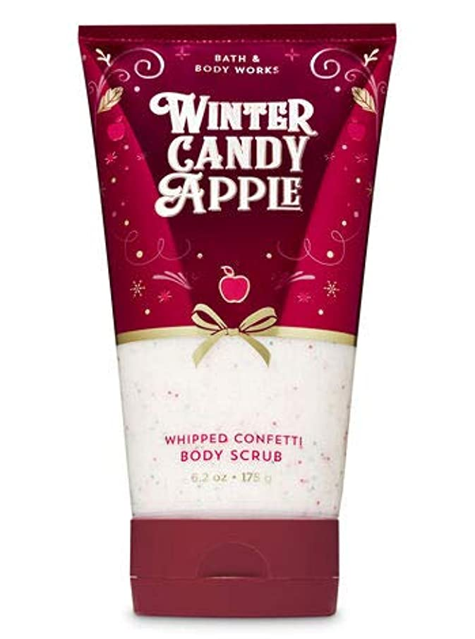 フォルダ承認船乗りバス&ボディワークス Winter Candy Apple ボディスクラブ [並行輸入品]