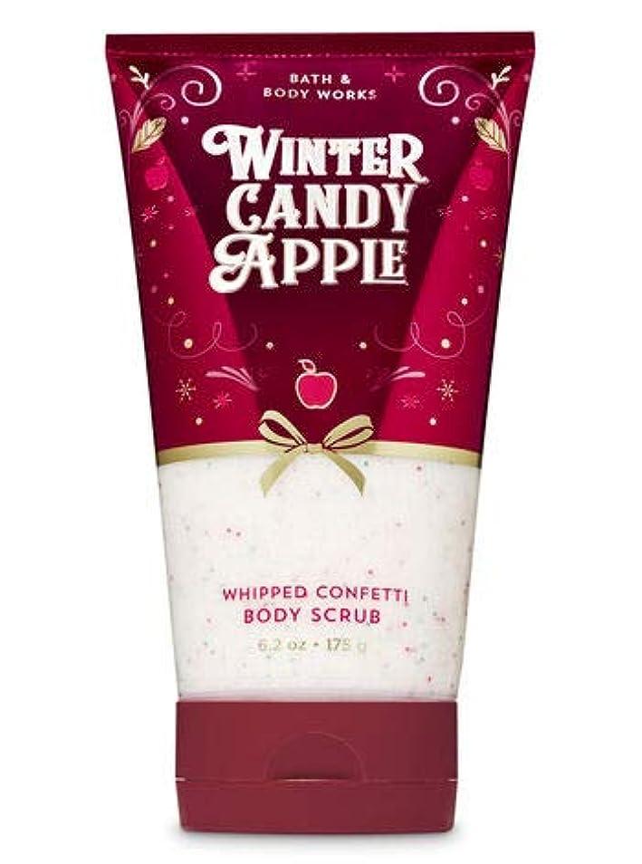 り塩批評バス&ボディワークス Winter Candy Apple ボディスクラブ [並行輸入品]