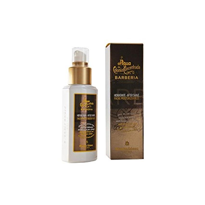 愛罹患率血まみれのアグア?デ?コロニア顔の保湿剤プラス x4 - Agua De Colonia Barberia Facial Moisturiser Plus (Pack of 4) [並行輸入品]