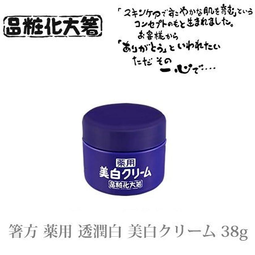データベースアクティビティ検索エンジン最適化箸方化粧品 薬用 透潤白 美白クリーム 38g はしかた化粧品
