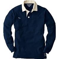 CUC DOGMAN 長袖ラガーシャツ 紺 Lサイズ 1250