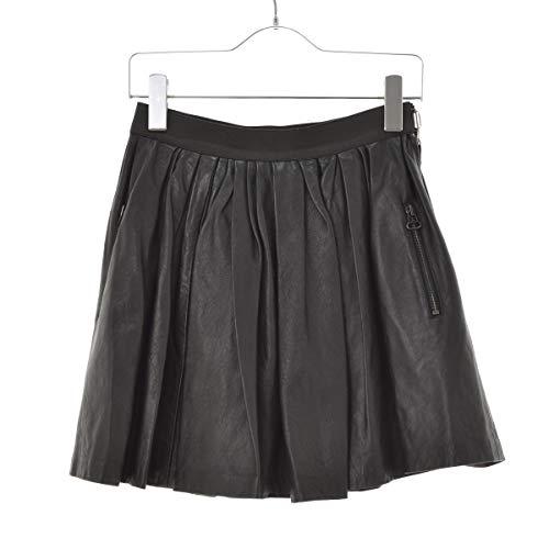 (スリーワンフィリップリム) 3.1 phillip lim レザーギャザー スカート