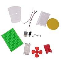 キッズ 科学実験キット 電気静的な 雪モデル DIY アセンブリ 玩具 子供教育玩具