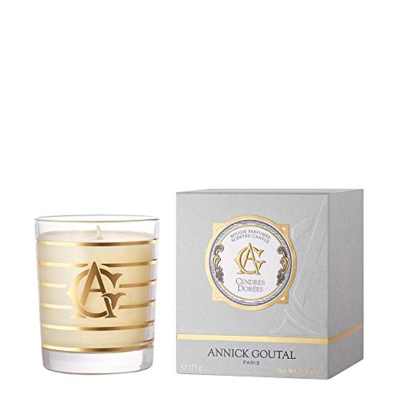 決済理解申し立てられた[Annick Goutal ] アニックグタールCendres Dorees香りのキャンドル175グラム - Annick Goutal Cendres Dorees Perfumed Candle 175g [並行輸入品]