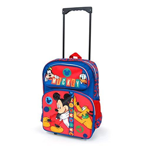 ディズニー ミッキーマウス 子供用 キャリーケースL キャリーバッグ コロコロ 旅行かばん ミッキーマウス(L) [並行輸入品]