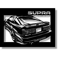 トヨタ(TOYOTA) スープラ JZA70の切り絵(4) A4サイズ