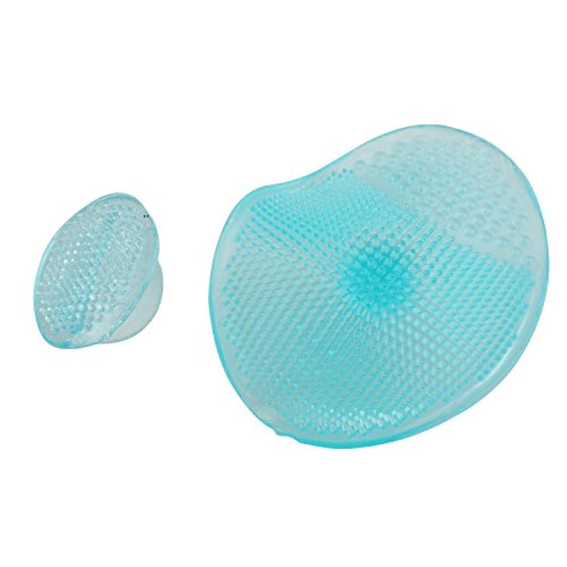 決してドア繊毛ACAMPTAR 洗顔エクスフォリエイティングブラシ クリーニングパッド フェイシャルSPAスキンスクラブ クレンザーツール