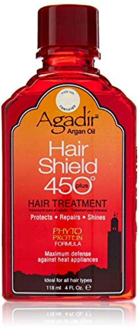 アカデミー体操選手準備ができてアガディール Hair Shield 450 Plus Hair Treatment (For All Hair Types) 118ml