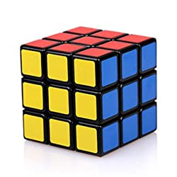 BenRan スピードキューブ3x3x3 競技用 スムーズ回転 (黒素体)